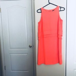 Orange Banana Republic Dress